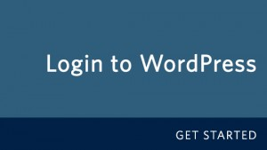 How to login to your WordPress Site