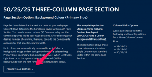 Adding Buttons Inside Content
