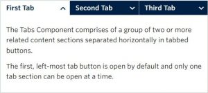Tabs Component